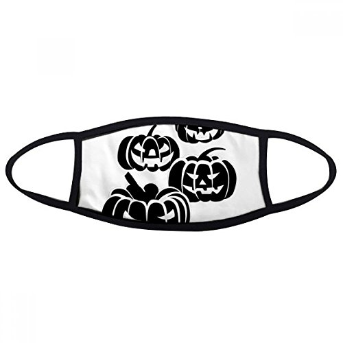 DIYthinker Four Black Halloween Pumpkins Face Anti-dust Mask Anti Cold Maske Gift -