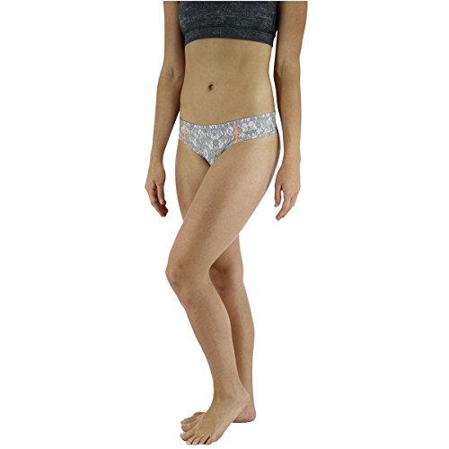 44742fe40517 adidas Women's Thong Underwear, Lace Grey/Sun Glow, - Import It All
