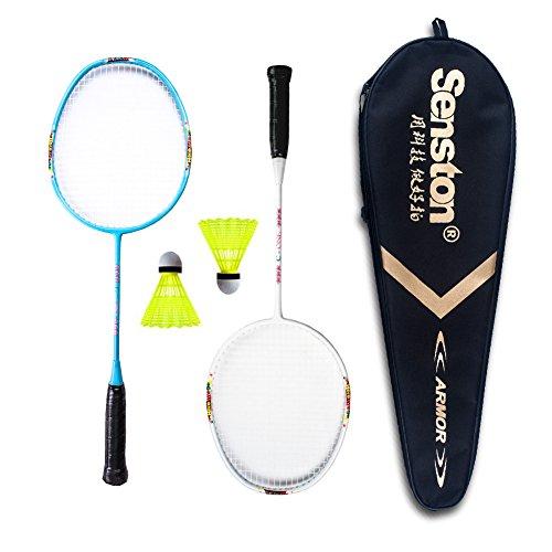 Senston Kids Badminton Racket Set Junior Mini Racket Kit Outdoor Sport Toy for Kids - Ideal as Birthday Gift (