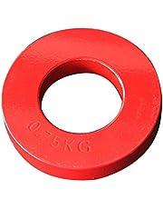 Generic Kleurrijke Stalen Olympische Fractionele Platen, Micro 0.25kg,0.5kg,0.75kg,1kg Fractie Gewicht Plaat Lage Gewichten Discs Incrementele Gewicht Plaat