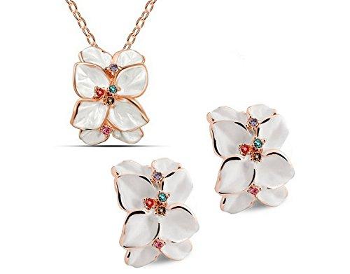 HI BOOM Earrings Pendant Necklace Jewelry