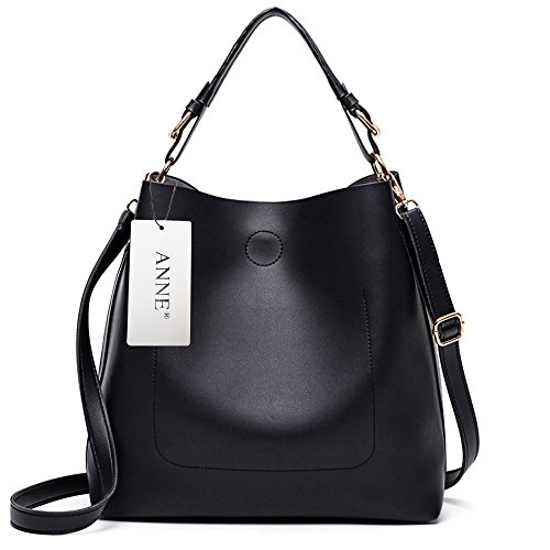 Bag Black Fashion ANNE Bag Women Shoulder Single Set Women's Women's pouch Handbag Wrist Simple xqfAIOwfF
