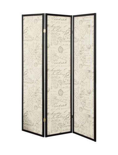 Amazoncom 3 Panel Room Divider Folding Wood Indoor Furniture