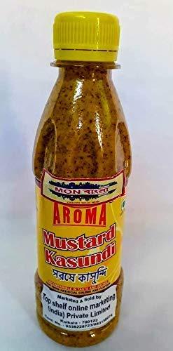 MonBangla Original Bengali Kasundi (Mustard Sauce) - 300 GMS