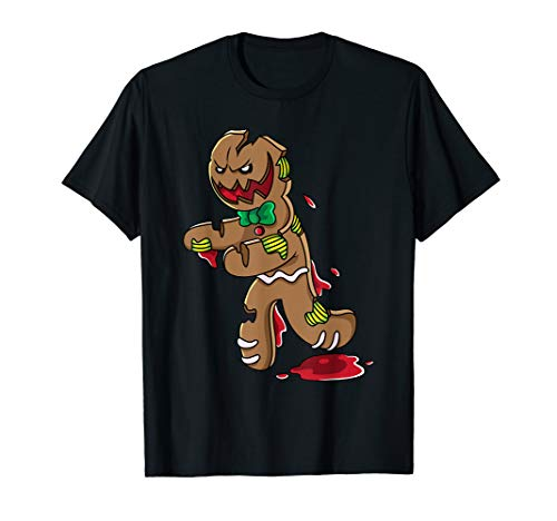 Scary Zombie Gingerbread Man Christmas Horror Gift -