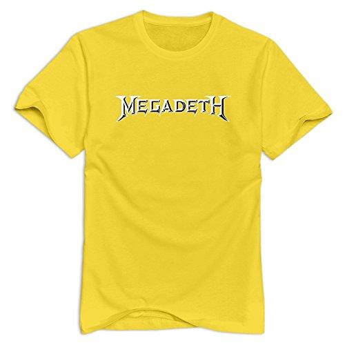 nolysg-megadeth-3d-logo-t-shirt-for-men-m-yellow-nerd-100-cotton-shirts