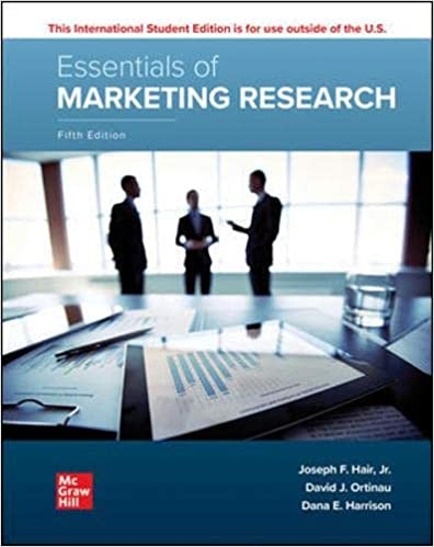 Essentials of Marketing Research, 5th Edition
