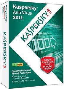 Kaspersky Anti-Virus 2011 3user Desktop Security Gadget Urgent Detection System Sm Box by Kaspersky