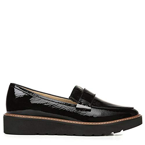 Naturalizer Women's ADILINE Loafer, Black Patent, 8.5 M US