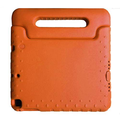 Kids Protector iPad 9.7 Inch iPad Air 2/ iPad Air 1/ 2018 (6th Gen) / 2017 (5th Gen) / iPad Eva Case for Kids Friendly Protective Shock Proof School Lightweight Convertible Handle Stand Orange