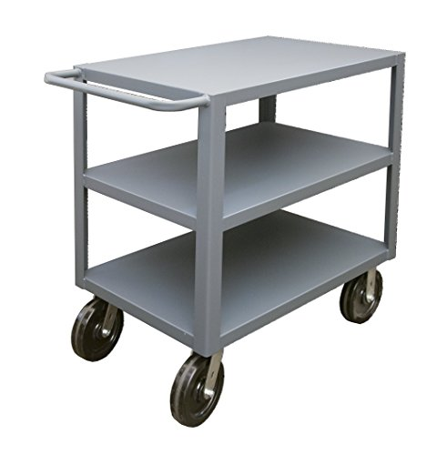 Durham-HET-3048-3-5K-95-Heavy-Duty-Utility-Cart-with-3-Shelves-8-Casters-30-x-48-x-395-5000-lb-Capacity