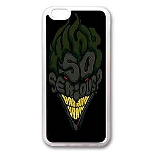 Custom Iphone 6 Case,so serious TPU White Iphone 6 Cases