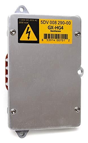 Replacement 5DV 008 290-00 Xenon HID Ballast Headlight Control Unit Module for Audi, BMW, Mercedes, Jaguar, Saab, Ford, Chrysler, Land Rover - 6 Year Warranty