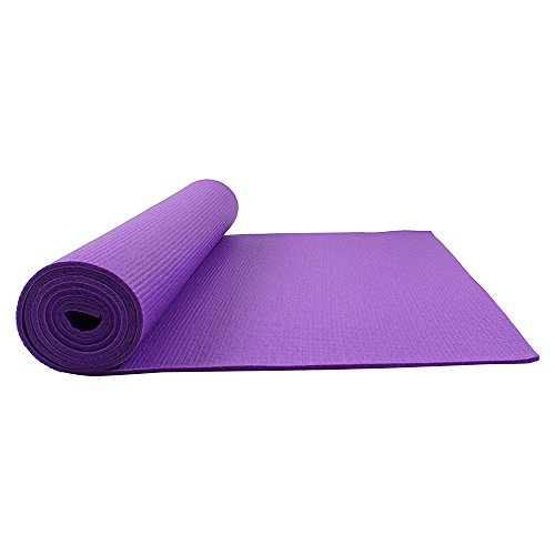 Fitkit FKYM04-P Yoga Mat, 6mm