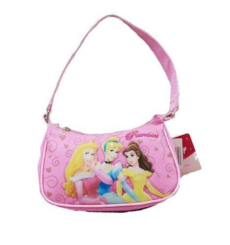 Handbag - Disney - Princess - 3 Princess Pink New Hand Bag Purse Girls 31041 GDC HB-00951