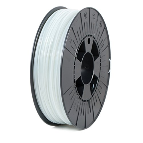 ICE FILAMENTS ICEFIL1ABS047 ABS Filament, 1.75 mm, 0.75 kg, Fluo Cunning Clear