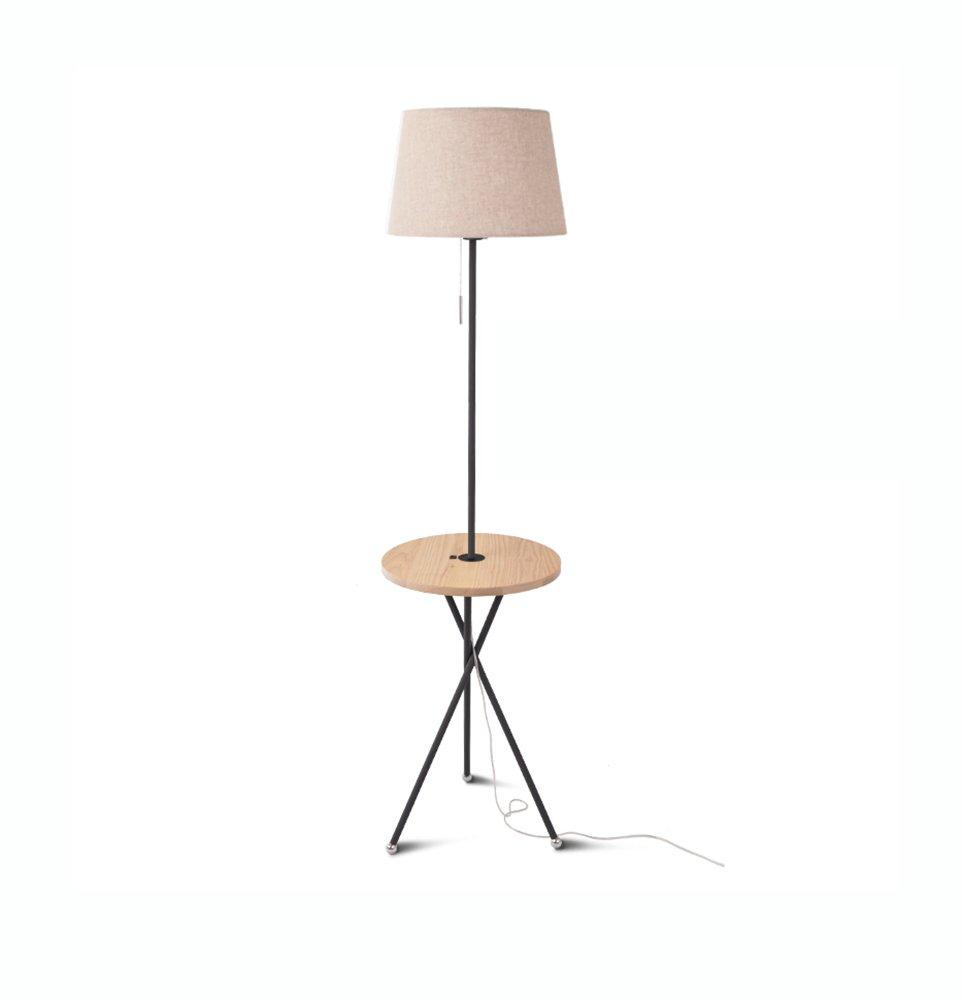 フロアランプ、コーヒーテーブルフロアランプリビングルームのベッドルーム北ヨーロッパアメリカンビレッジ和風ソファのログテーブルランプE27 (色 : #3) B07DD6HKDK 27696 #3 #3