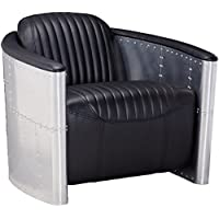 Modway Visibility Lounge Chair in Black