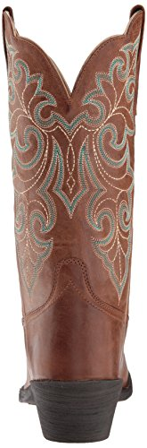 Western up Boot Wood Women's Toe Round Ariat Square xaTnXE6