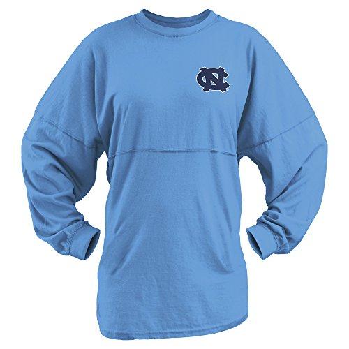 NCAA North Carolina Tar Heels Junior's Coastal Sweeper Jersey, Carolina Blue, Small