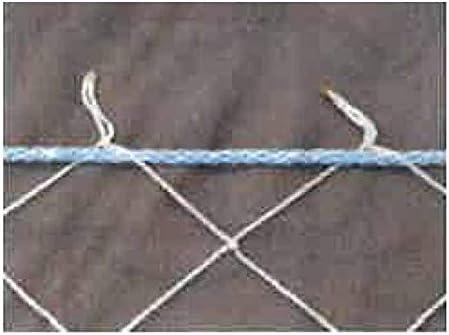 落下 防止 ネット 安全ネット セーフティネット 1.8x3.6m 目合100mm 緑ロープ 高所作業用 屋根作業 現場 エバー商会 コT 代不