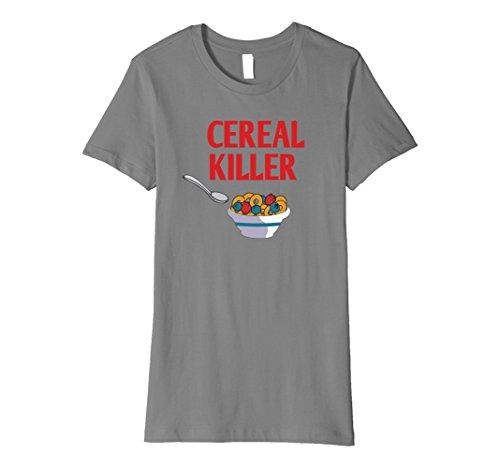 eal killer tshirt Great for Halloween Gift Medium Slate ()