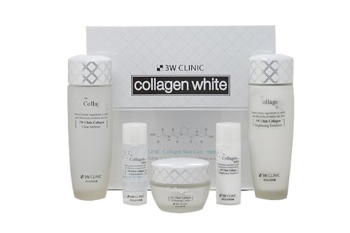 [3W CLINIC] Collagen White Skin Care 3-Piece Set / whitening,soft,moisturized / Korean Cosmetics