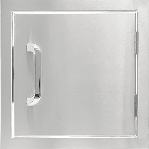 Series 12-inch Stainless Steel Single Access Door ()