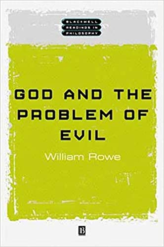 Amazoncom God And The Problem Of Evil  William L  God And The Problem Of Evil St Edition