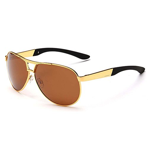 My.Monkey Fashion Aviator Style UV400 Polarized 100% UV protection Metal Frame - Star Optics Suncloud Sunglasses
