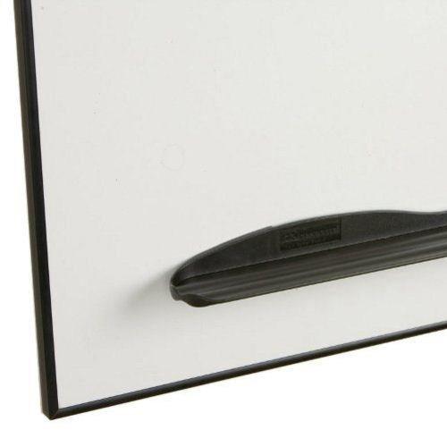 Porcelain Markerboard w Ultra Trim in Black (4 ft. W x 3 ft. H (25 lbs.))