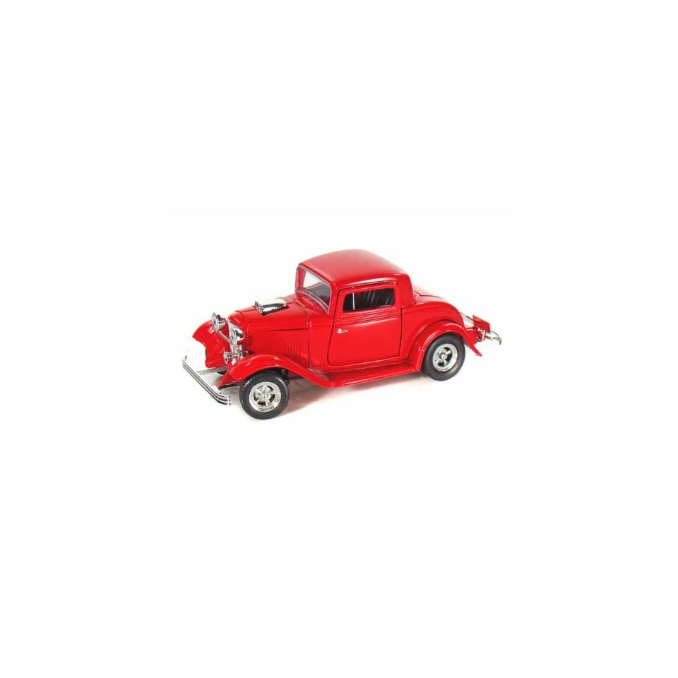 1932 Ford Coupe Hot Rod 1/24 Red Toys & Games