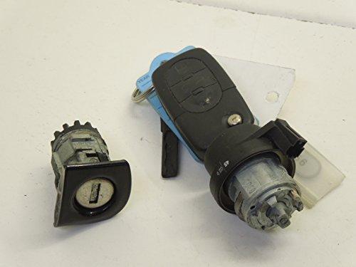 Audi A4 B6 Cabriolet Ignition Barrel Door Lock and Key: