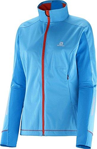 2f30306411 Salomon 2014 15 Women s Equipe Softshell Run Jacket (Blue Line Methyl Blue -