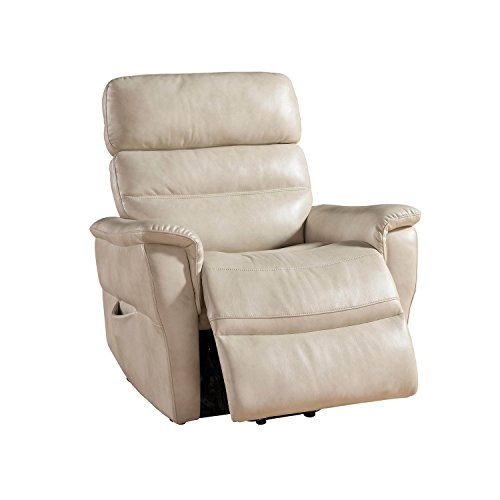 Christies Home Living Traditional Power Reclining Lift Chair, Cream