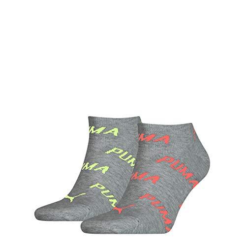PUMA PUMA Unisex BWT Sneaker – Trainer Socks (2 pack) uniseks-volwassene Sokken
