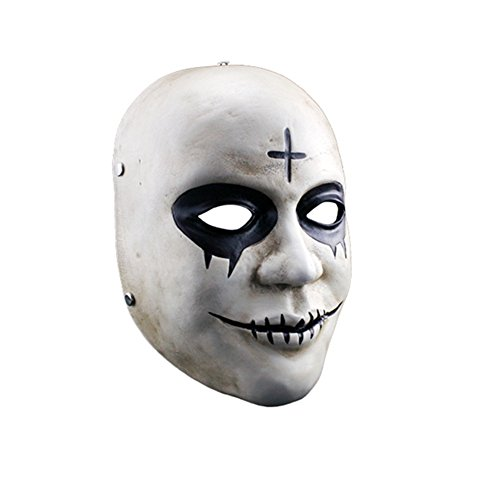 Dertring 2017 The Purge Anarchy James Sandin Cross Mask Props 10'' 7'' -