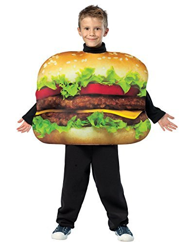 Get Real Cheeseburger Costume - One Size