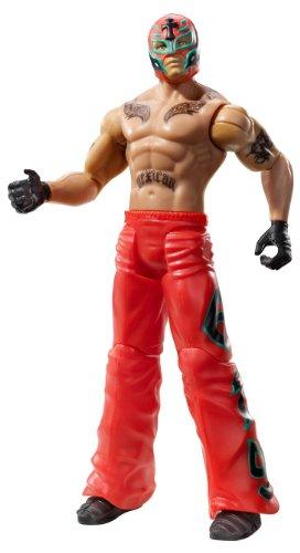 (WWE Flexforce Flip Kickin' Rey Mysterio Alt. Outfit Action Figure)