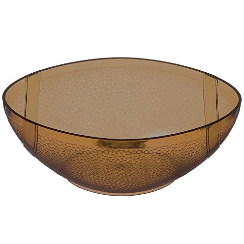 Amscan Football Plastic Party Bowl -