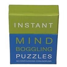 Instant Puzzles - 50 Énigmes confondantes - Puzzle Ahurissant à se creuser la cervelle