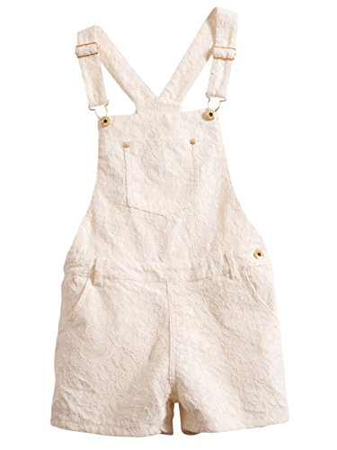 GUESS Kids Big Girl Lace Shortalls (7-16)
