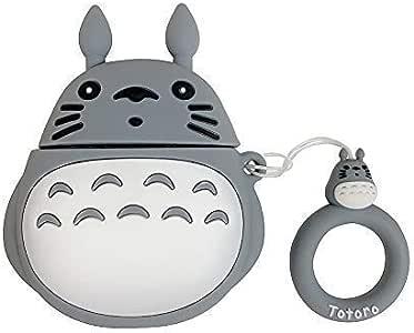 Fingertoys Anime Japonés Airpods Estuche, el Viaje de Chihiro Lejos sin Cara Hombre Totoro Lindo Cartoon Airpod Estuche Compatible para Apple Airpods Portátil Protector Funda para Anime Fans: Amazon.es: Hogar
