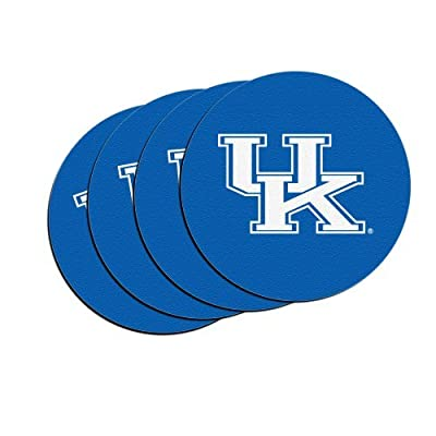 NCAA Kentucky - Neoprene Car Coasters (4) | UK Wildcats Car Cup Holder Coasters - Set of 4