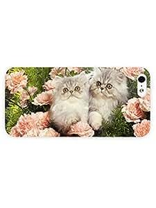 3d Full Wrap Case for iPhone 5/5s Animal Flower