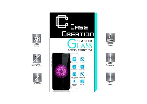 Case Creation All Round Protection Tempered Glass Screen Guard Screen Protector for LG V20 Dual H990DS