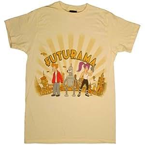 Futurama T-shirt City Pose-size Medium