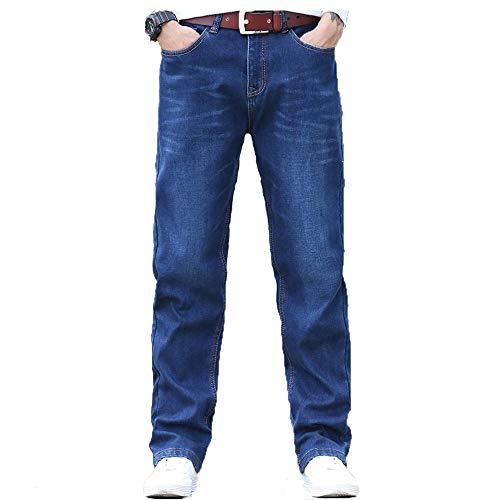Otoño E Hombre Gran Vaqueros Tamaño 31 Hombres Mezclilla Terciopelo Jeans Invierno Más Fuerza tamaño Casual Pantalones Para De Los Elástica 6nFA860qw