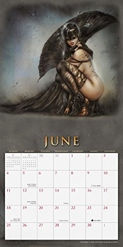 The Fantasy Art Of Luis Royo 2017 Wall Calendar Import It All