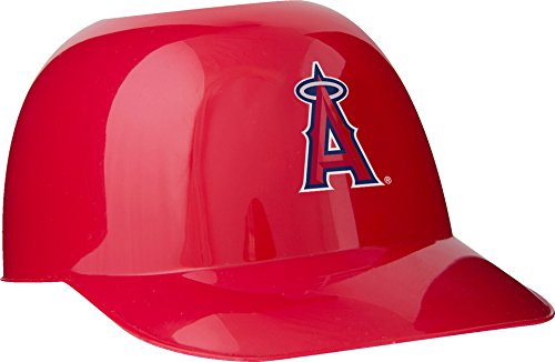 Official MLB Mini Baseball Helmet 8oz Ice Cream/Snack Bowls, 1 Count, Los Angeles - Angels Mini Mlb